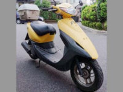 守谷市みずき野6丁目で原付バイクのホンダ スマートDio イエローを無料引き取り処分