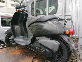 鎌倉市岡本で無料で処分と廃車をしたホンダ 初代トゥデイ ブラック