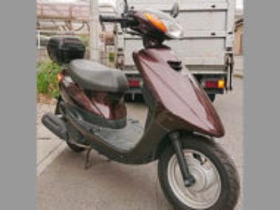 小山市東間々田2丁目で原付バイクのヤマハ JOG FIを無料引き取り処分