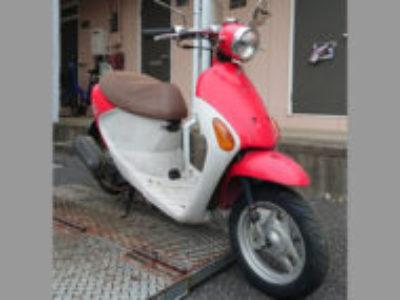 土浦市港町2丁目で原付バイクのスズキ レッツ4パレットを無料引き取り処分