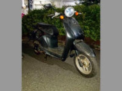 足立区伊興3丁目で原付バイクのホンダ トゥデイ ブラックを無料引き取り処分と廃車