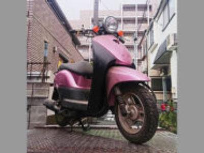 足立区中川2丁目で原付バイクのホンダ トゥデイ FI ピンクを無料引き取り処分