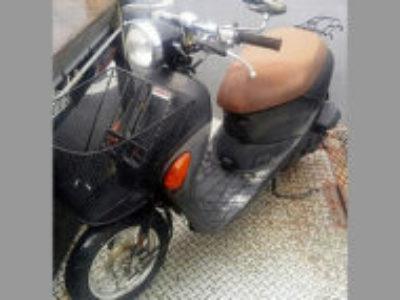 清瀬市野塩5丁目で原付バイクのスズキ レッツ4パレット ブラックを無料で引き取り処分