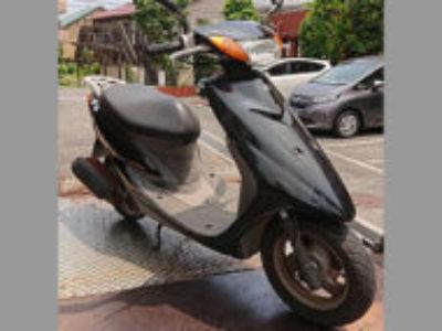 大田区仲池上2丁目で原付バイクのヤマハ JOG ブラックを無料引き取り処分