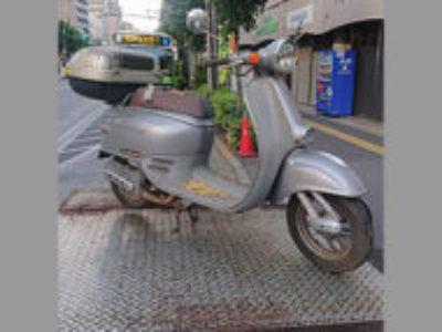豊島区上池袋1丁目で原付バイクのホンダ ジョルノ DX シルバーを無料で引き取り処分