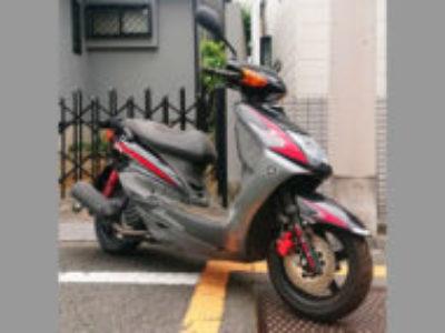 杉並区松ノ木3丁目で原付バイクのヤマハ シグナスX SRを無料で引き取りと処分