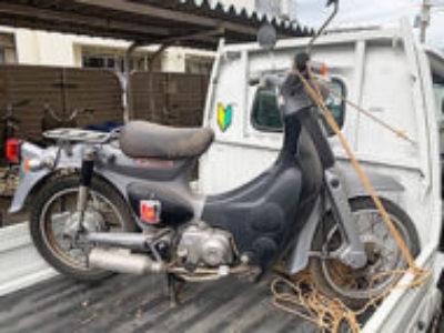 板橋区前野町2丁目で原付バイクのホンダ リトルカブを無料引き取り処分
