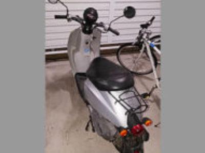 佐野市高萩町で原付バイクのホンダ トゥデイ シルバーを無料で引き取り処分