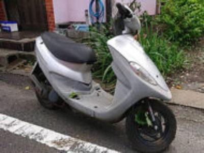 八王子市台町4丁目で原付バイクのSYM DD50 シルバーを無料引き取り処分と廃車