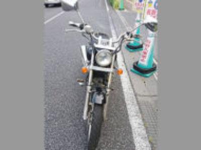 さいたま市北区奈良町で原付バイクのホンダ マグナ50 ブラックを無料引き取り処分