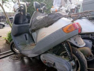 三鷹市北野2丁目で原付バイクのJOG アプリオを無料で引き取り処分
