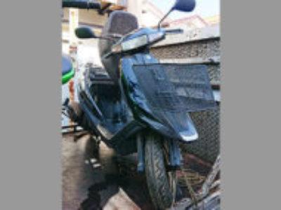 三鷹市牟礼2丁目で原付バイクのスズキ アドレスV100 ブラックを無料引き取り処分