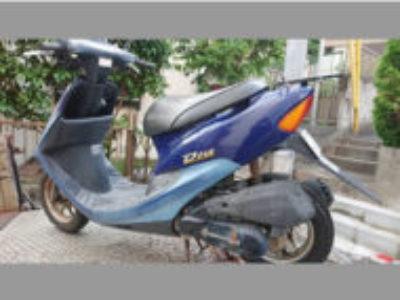 横浜市港北区高田西1丁目で原付バイクのホンダ ライブDio ブルーを無料引き取りと処分