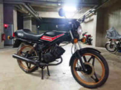横浜市港南区野庭町で原付バイクのホンダ MB5を無料で引き取り処分
