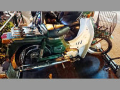 新宿区高田馬場4丁目で原付バイクのスズキ バーディー50を無料引き取り処分