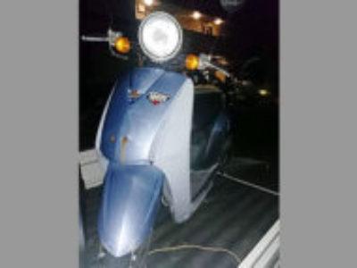 上尾市錦町で原付バイクのホンダ トゥディ シリウスブルーを無料引き取り処分