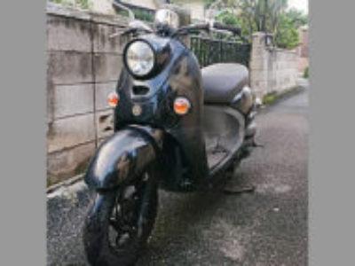 高崎市下豊岡町で原付バイクのヤマハ ビーノ4スト ブラックを無料引き取り処分と廃車