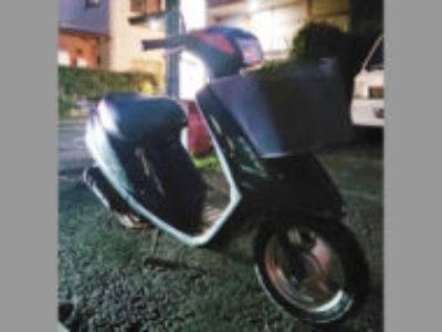 前橋市広瀬町2丁目で原付バイクのヤマハ JOG/2スト ブラックを無料引き取り処分