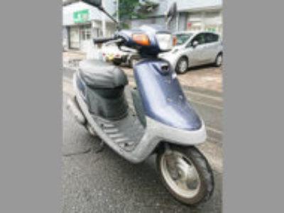 久喜市西大輪で原付バイクのヤマハ アプリオ ミスティブルーを無料で引き取り処分と廃車