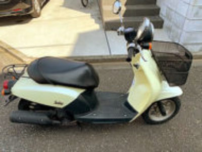 狛江市猪方3丁目で原付バイクのホンダ 初代トゥデイ イエローを無料で引き取り処分