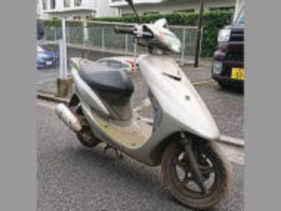 柏市松ケ崎で原付バイクのヤマハ JOG Z2 シルバーを無料引き取り処分と廃車