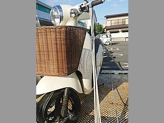 西東京市芝久保町2丁目で無料で廃車と処分をしたホンダ ジョルノ FI パールコットンアイボリー