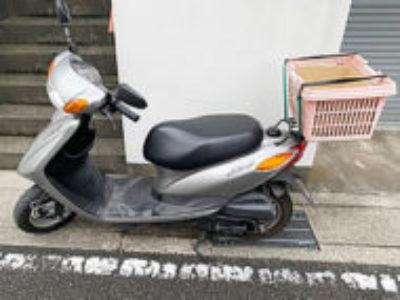 海老名市国分寺台5丁目で原付バイクのヤマハ JOG FI シルバーを無料で引き取り処分