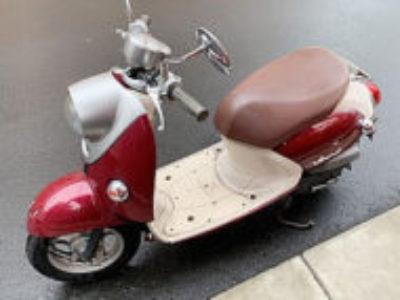 江戸川区船堀1丁目で原付バイクのヤマハ ビーノ4ストを無料引き取り処分と廃車