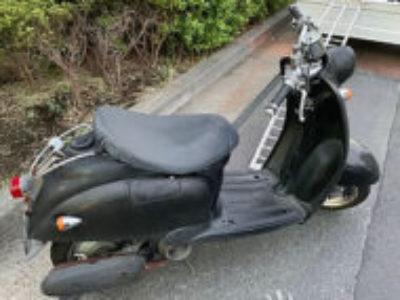 足立区南花畑3丁目で原付バイクのヤマハ ビーノ2スト 自家塗装車を無料で引き取り処分
