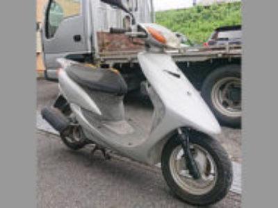 志木市柏町1丁目で原付バイクのヤマハ JOG(CV50) シルバーを無料引き取り処分と廃車