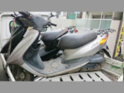 北区田端1丁目で原付バイクのヤマハ JOG FIを無料引き取り処分と廃車