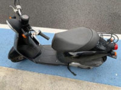 北区赤羽西1丁目で原付バイクのホンダ トゥデイ ブラックを無料引き取り処分