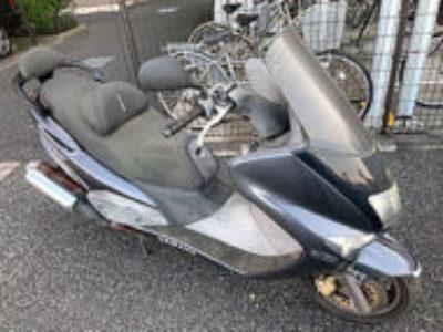 八王子市大和田町6丁目で原付バイクのヤマハ マジェスティ125 FIを引き取り処分と廃車