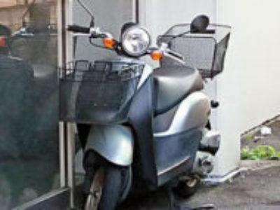 練馬区氷川台4丁目で原付バイクのホンダ トゥデイ FIを無料で引き取り処分