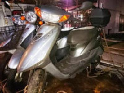 平塚市立野町で原付バイクのヤマハ JOG DXを無料引き取りと処分