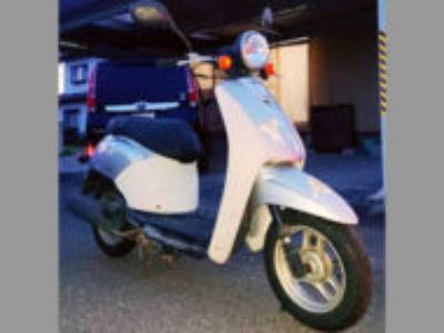 高崎市新保田中町で原付バイクのホンダ 初代トゥデイ シルバーを無料引き取り処分と廃車