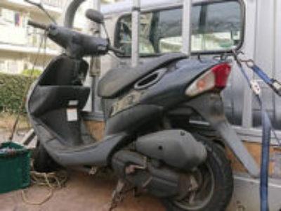 印西市小倉台1丁目で原付バイクのスズキ レッツ2 ブラックを無料で引き取り処分