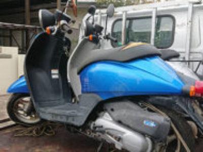 鎌ケ谷市鎌ケ谷2丁目で原付バイクのホンダ トゥデイ FIを無料で引き取り処分