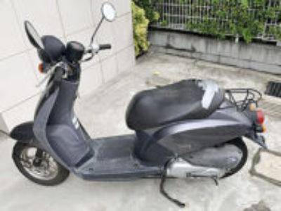 荒川区東日暮里6丁目で原付バイクのホンダ トゥデイ グレーを無料で引き取り処分