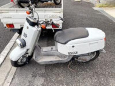 世田谷区鎌田3丁目で原付バイクのヤマハ VOX DX ホワイトを無料引き取り処分と廃車