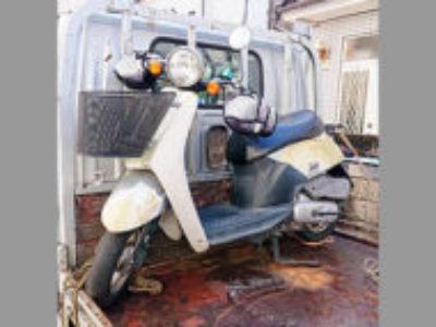 所沢市大字上安松で原付バイクのホンダ トゥデイ 前カゴ付きを無料で引き取り処分と廃車