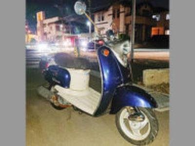 流山市向小金3丁目で原付バイクのヤマハ ビーノ2サイクルを無料で引き取りと処分
