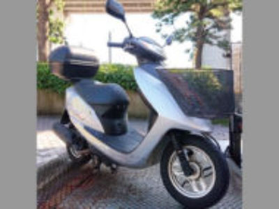 浦安市舞浜2丁目で原付バイクのホンダ Dio シルバーを無料引き取り処分と廃車