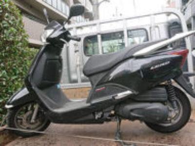 荒川区西日暮里1丁目で原付バイクのホンダ リード110を無料引き取り処分