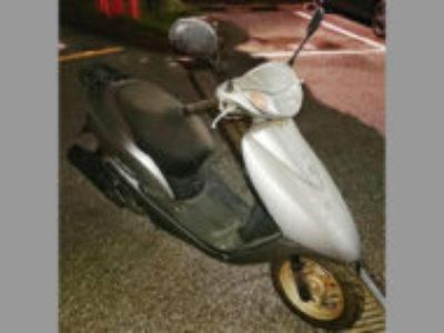 川口市川口5丁目で原付バイクのホンダ Dio FI シルバーを無料引き取り処分と廃車