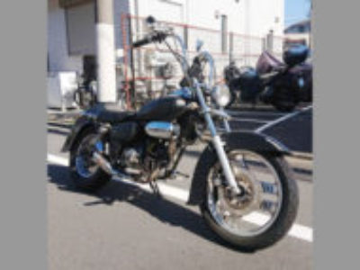 大田区新蒲田1丁目で原付バイクのホンダ マグナ50 マットブラックを無料引き取り処分