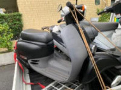 葛飾区東堀切2丁目で原付バイクのホンダ ジョルノを無料引き取り処分