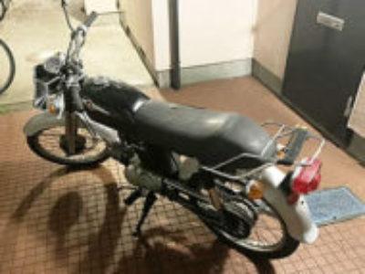 目黒区東山2丁目で原付バイクのホンダ ベンリィ50Sを無料引き取り処分