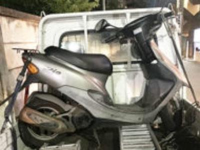 新座市北野3丁目で原付バイクのホンダ ライブDioを無料引き取り処分