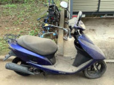 福生市熊川で原付バイクのホンダ Dio FIを無料引き取り処分と廃車